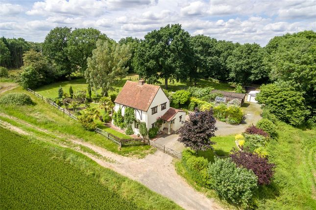 Thumbnail Detached house for sale in Wanborough, Guildford, Surrey