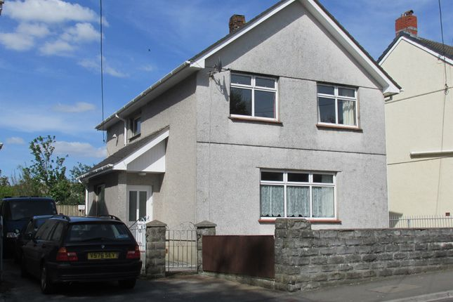 Thumbnail Detached house for sale in Caecerrig Road, Pontarddulais, Swansea
