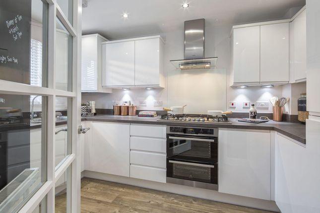 "Thumbnail Terraced house for sale in ""Kirkwood"" at Great Denham, Bedford"