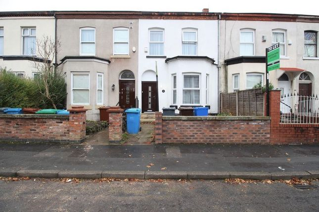Thumbnail Terraced house to rent in Fraser Road, Crumpsall, Manchester