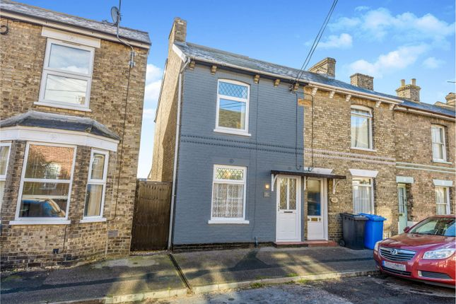 Thumbnail End terrace house to rent in Newmans Road, Sudbury