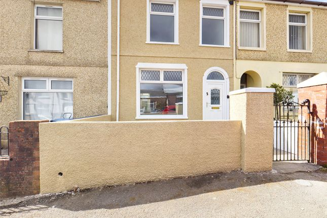Thumbnail Terraced house for sale in Bournville Terrace, Tredegar, Gwent