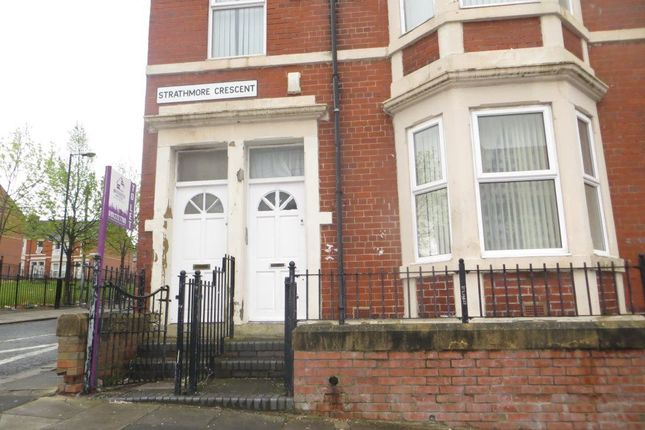 Thumbnail Maisonette to rent in Strathmore Crescent, Benwell, Newcastle Upon Tyne