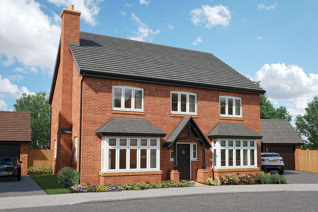 "Thumbnail Detached house for sale in ""The Oak"" at Mandale Close, Bishops Itchington, Southam"