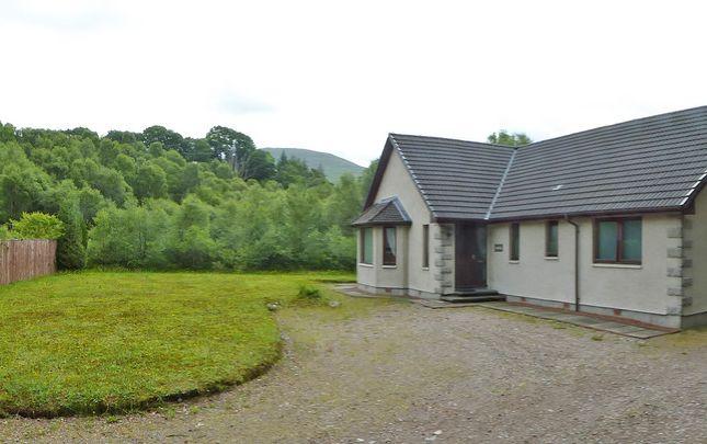 Thumbnail Detached bungalow for sale in Eilona, Roy Bridge, Fort William