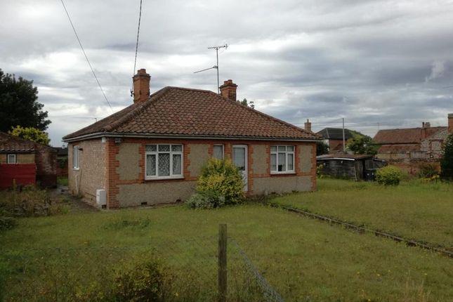 Detached bungalow for sale in Holt Road, Fakenham