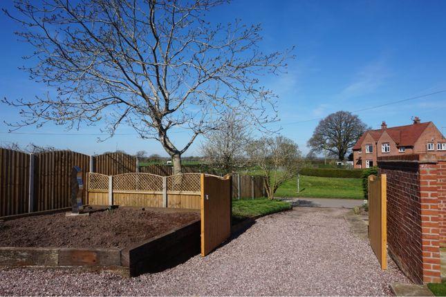 Gated Driveway of School Lane, Marbury SY13