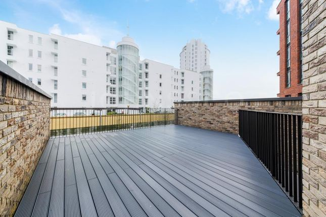 Thumbnail Property to rent in Starboard Way, Royal Wharf, London