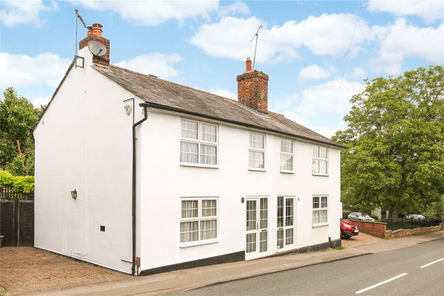 Thumbnail Semi-detached house for sale in Brewhouse Hill, Wheathampstead, St. Albans, Hertfordshire