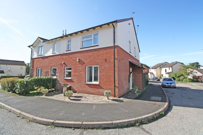 Thumbnail Semi-detached house for sale in Fulford Way, Woodbury, Exeter