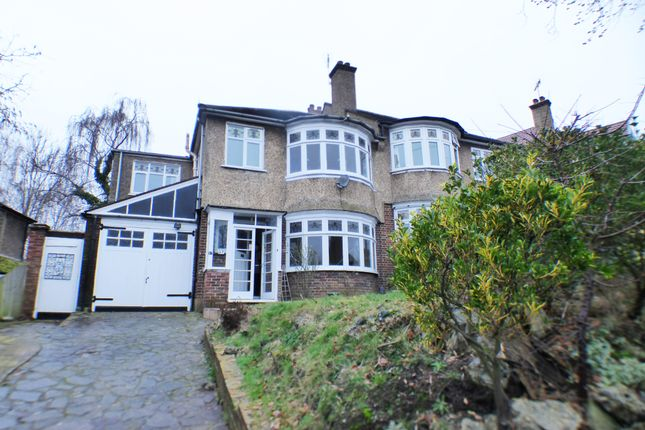 Thumbnail Semi-detached house to rent in Murray Avenue, Bromley