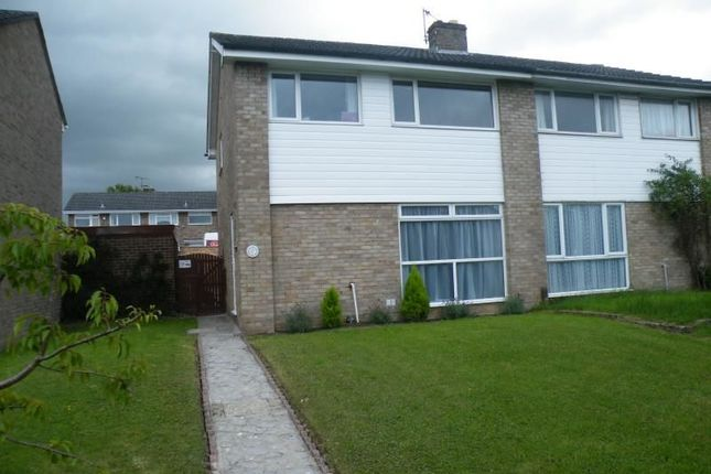 Thumbnail Semi-detached house to rent in Robin Way, Chipping Sodbury, Bristol