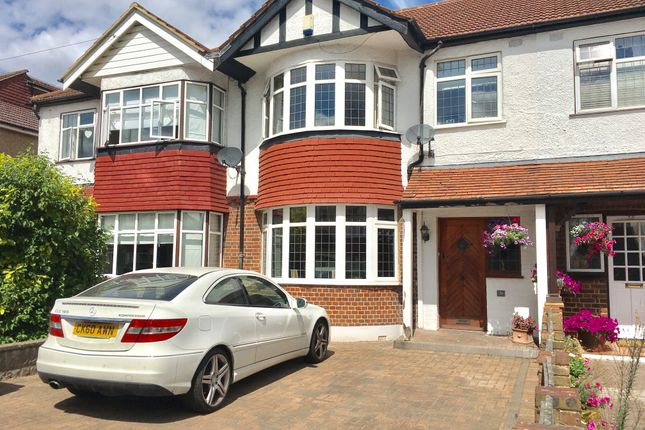 Thumbnail Terraced house for sale in Priory Avenue, Cheam