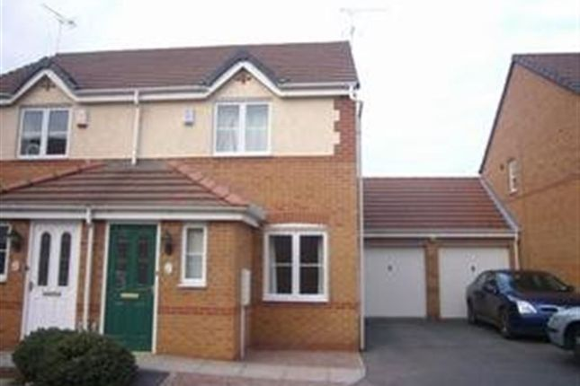 Thumbnail Semi-detached house to rent in Kyle Road, Hilton, Derby