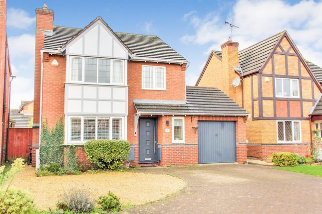 Thumbnail Detached house for sale in Pegasus Gardens, Quedgeley, Gloucester