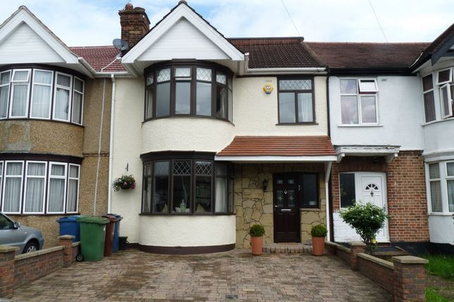 Thumbnail Terraced house for sale in Alicia Avenue, Kenton