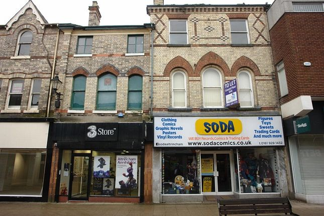 Thumbnail Retail premises for sale in George Street, Altrincham