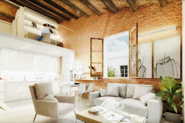 27313, Barcelona Unique 3 Storey House For Sale In Poble Nou, Spain