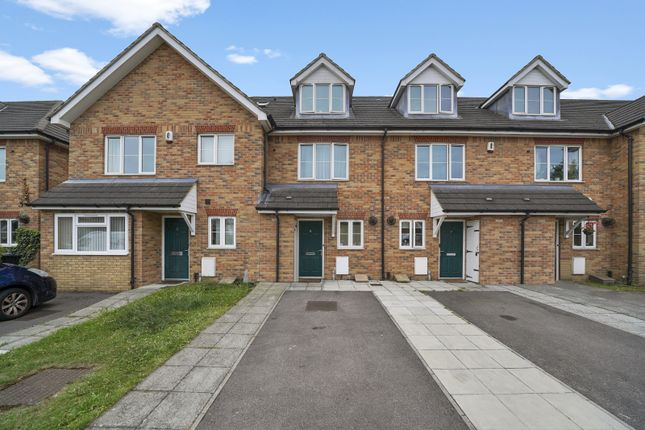 Thumbnail Terraced house for sale in Doris Ashby Close, Greenford