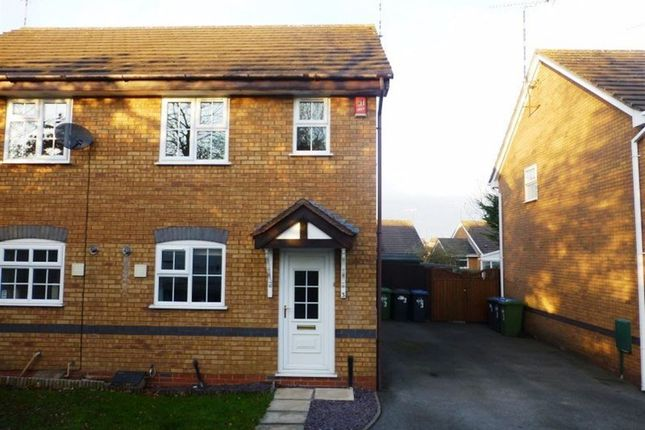 Thumbnail Semi-detached house to rent in Webb Drive, Rugby