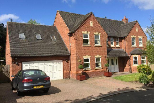 Thumbnail Detached house to rent in Oaktree Drive, Loggerheads, Market Drayton