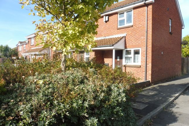 Thumbnail End terrace house to rent in Harrier Close, Lee-On-The-Solent