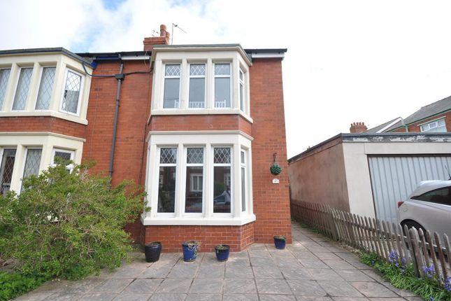 Thumbnail Semi-detached house for sale in Heathway Avenue, Layton, Blackpool, Lancashire