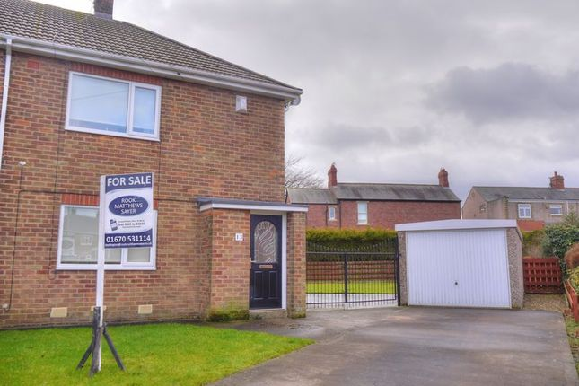 Thumbnail Semi-detached house for sale in Meadowdale Crescent, Bedlinton