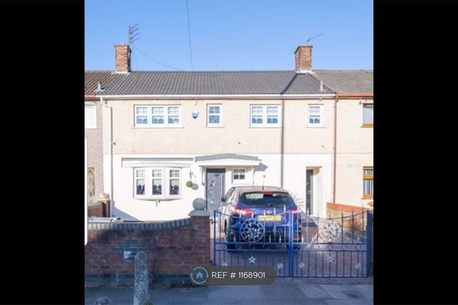 Thumbnail Terraced house to rent in Whitefield Drive, Liverpool
