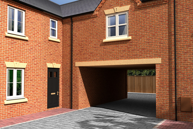 Thumbnail Mews house for sale in William Nadin Road, Swadlincote, Derby