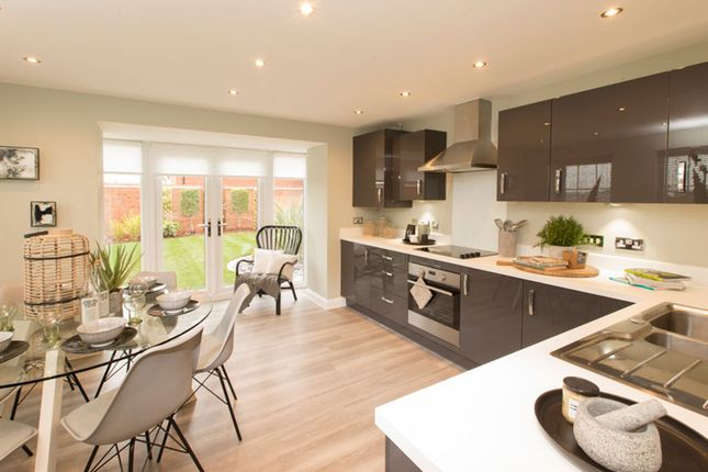 "Thumbnail End terrace house for sale in ""Brentwood"" at Station Road, Methley, Leeds"