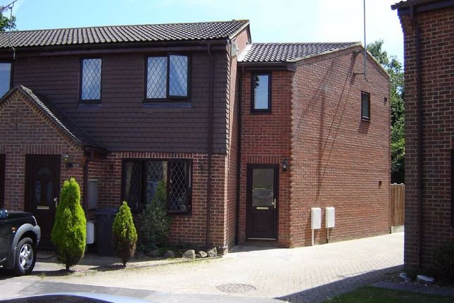 Thumbnail End terrace house to rent in The Briars, West Kingsdown, Kent
