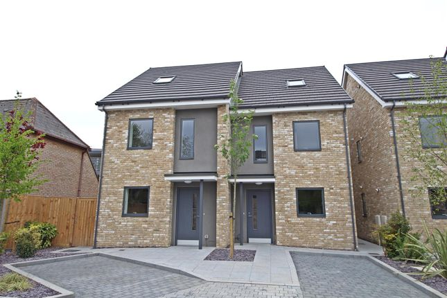 Thumbnail Semi-detached house for sale in Fishers Lane, Cherry Hinton, Cambridge