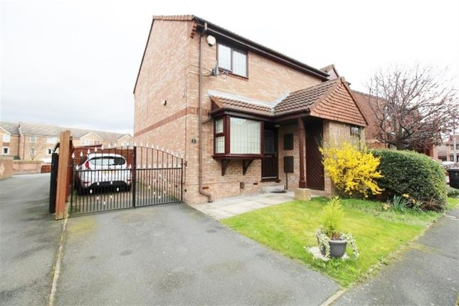 Thumbnail Semi-detached house for sale in Barker Place, Bramley