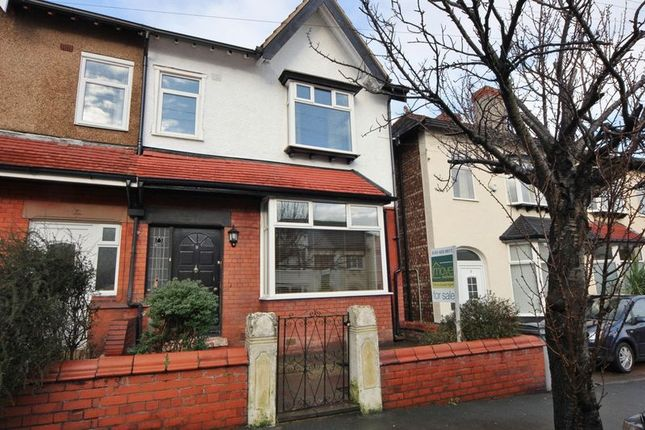 Thumbnail Semi-detached house for sale in Harrow Road, Wallasey, Wirral