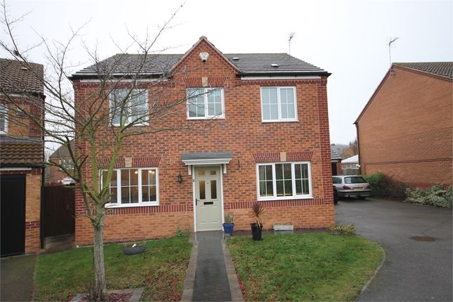Thumbnail Detached house for sale in Tudor Close, Newark, Nottinghamshire.