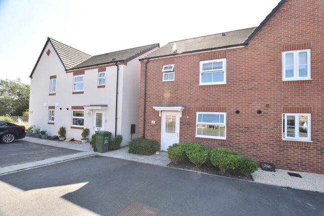 Thumbnail Semi-detached house to rent in Hollyhocks Close, Evesham