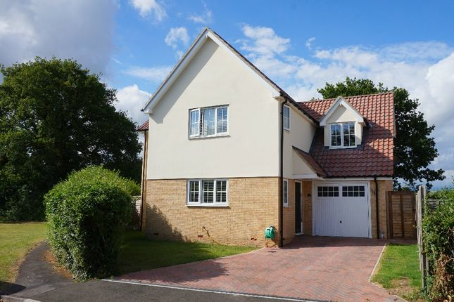 Thumbnail Detached house for sale in Notcutts, East Bergholt, Colchester, Suffolk