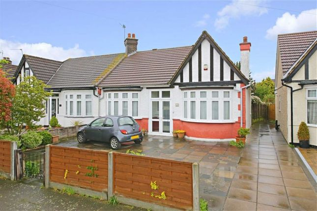 Thumbnail Semi-detached bungalow for sale in Manorway, Enfield, Middlesex