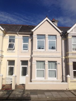Thumbnail Terraced house to rent in Glen Park Avenue, Mutley, Plymouth
