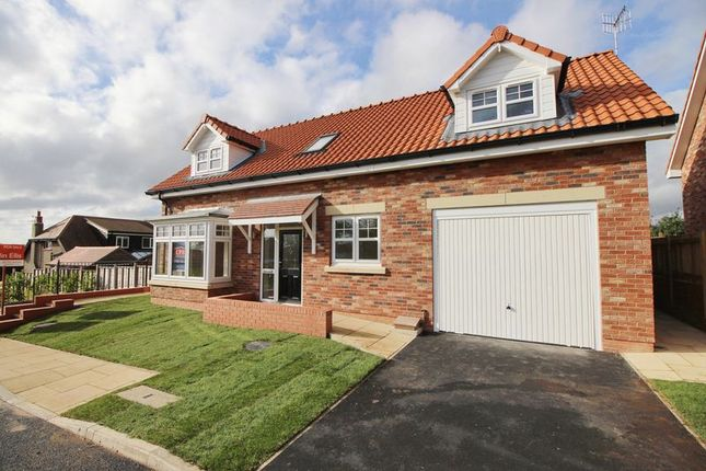 Thumbnail Bungalow for sale in The Paddock, Racecourse Road, Scarborough