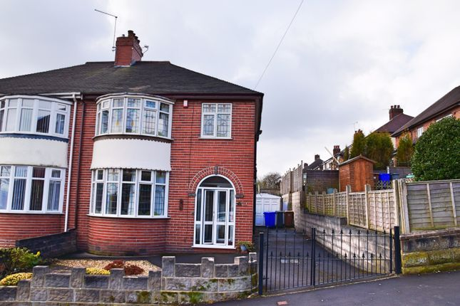3 bed semi-detached house for sale in Chamberlain Avenue, Penkhull, Stoke-On-Trent