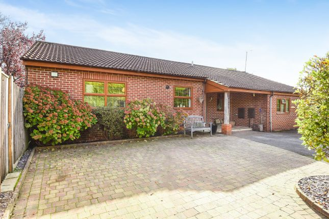 Thumbnail Detached bungalow for sale in Syers Close, Liss