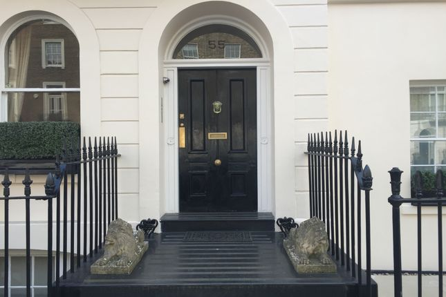 Entrance of Lower Belgrave Street, Belgravia SW1W