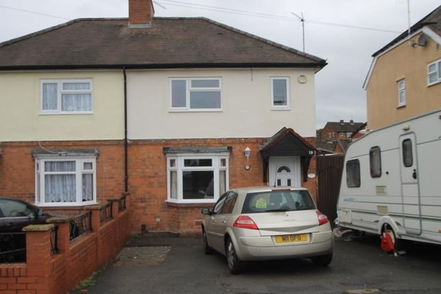 Thumbnail Semi-detached house to rent in Ryder Street, Stourbridge, Wordsley, West Midlands