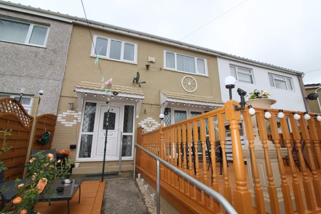 Thumbnail Terraced house for sale in Elm Court, Pantside, Newbridge