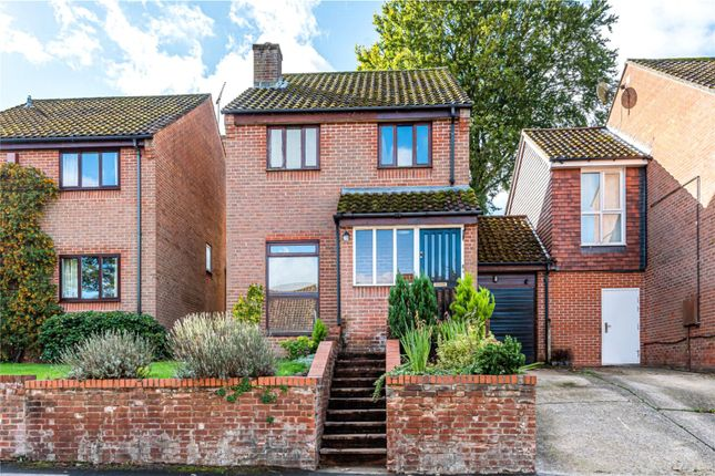 Link-detached house for sale in Beech Road, Alresford, Hampshire