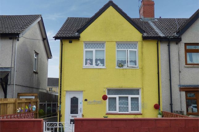 Thumbnail Semi-detached house for sale in Marianwen Street, Cefn Fforest, Blackwood, Caerphilly