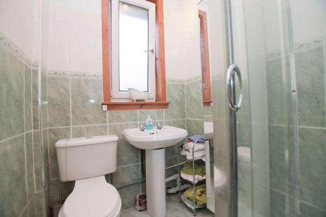 Shower Room of Inzievar Terrace, Mount Vernon, Glasgow G32