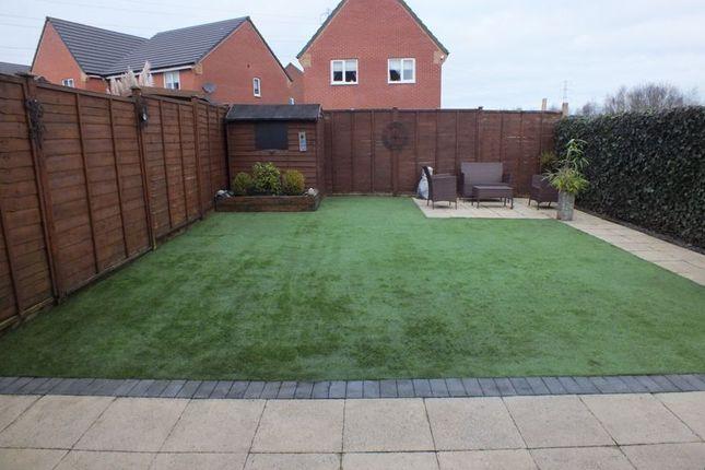 Rear Garden of Sandiacre Avenue, Sandyford, Stoke-On-Trent ST6